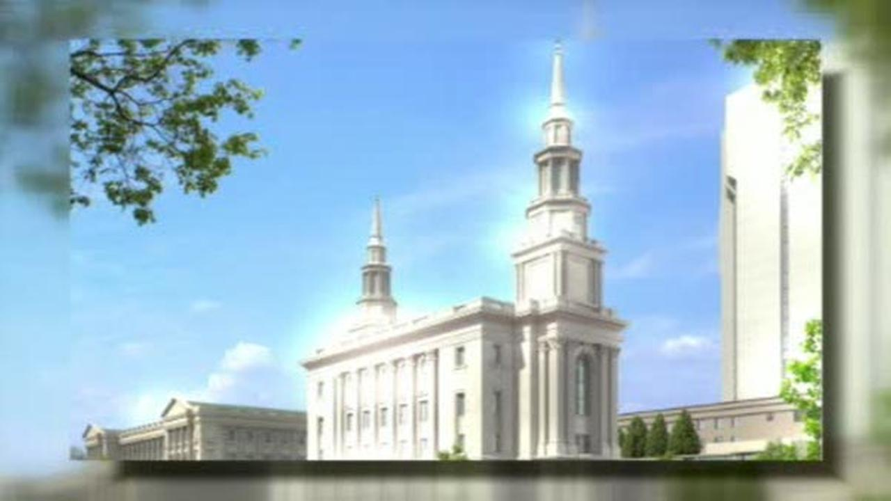 Tours being offered of new Philadelphia Mormon Temple