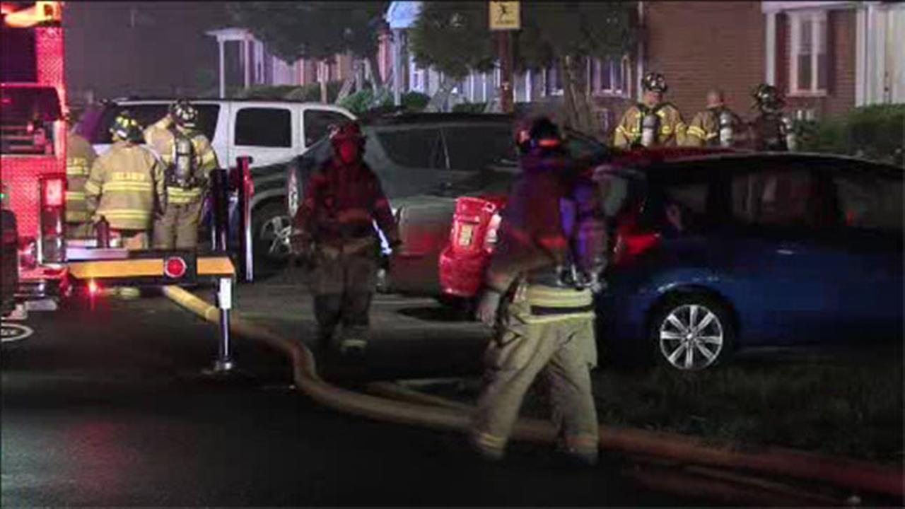 Fire damages 3 apartments in Burlington County
