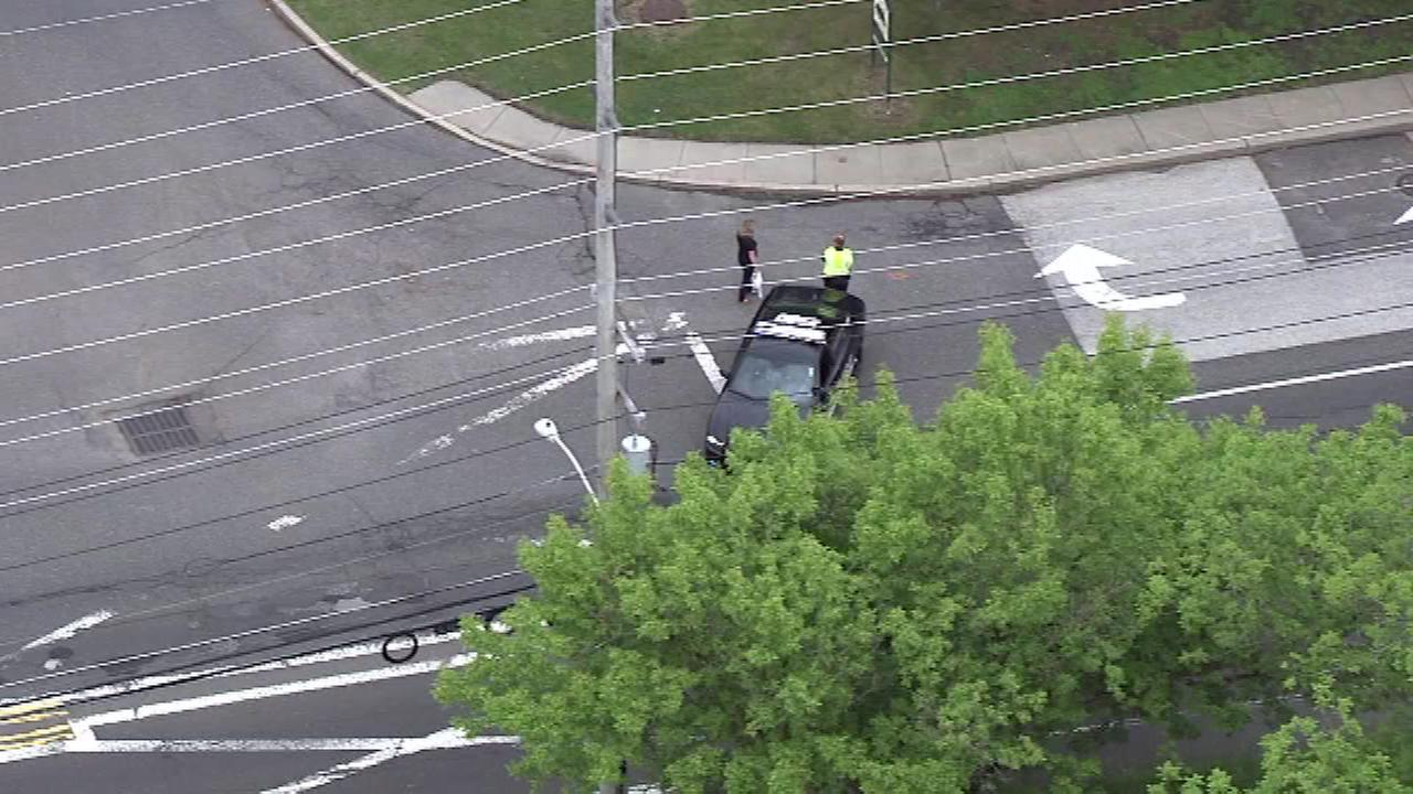 A pedestrian was struck by a vehicle in Cherry Hill, New Jersey.