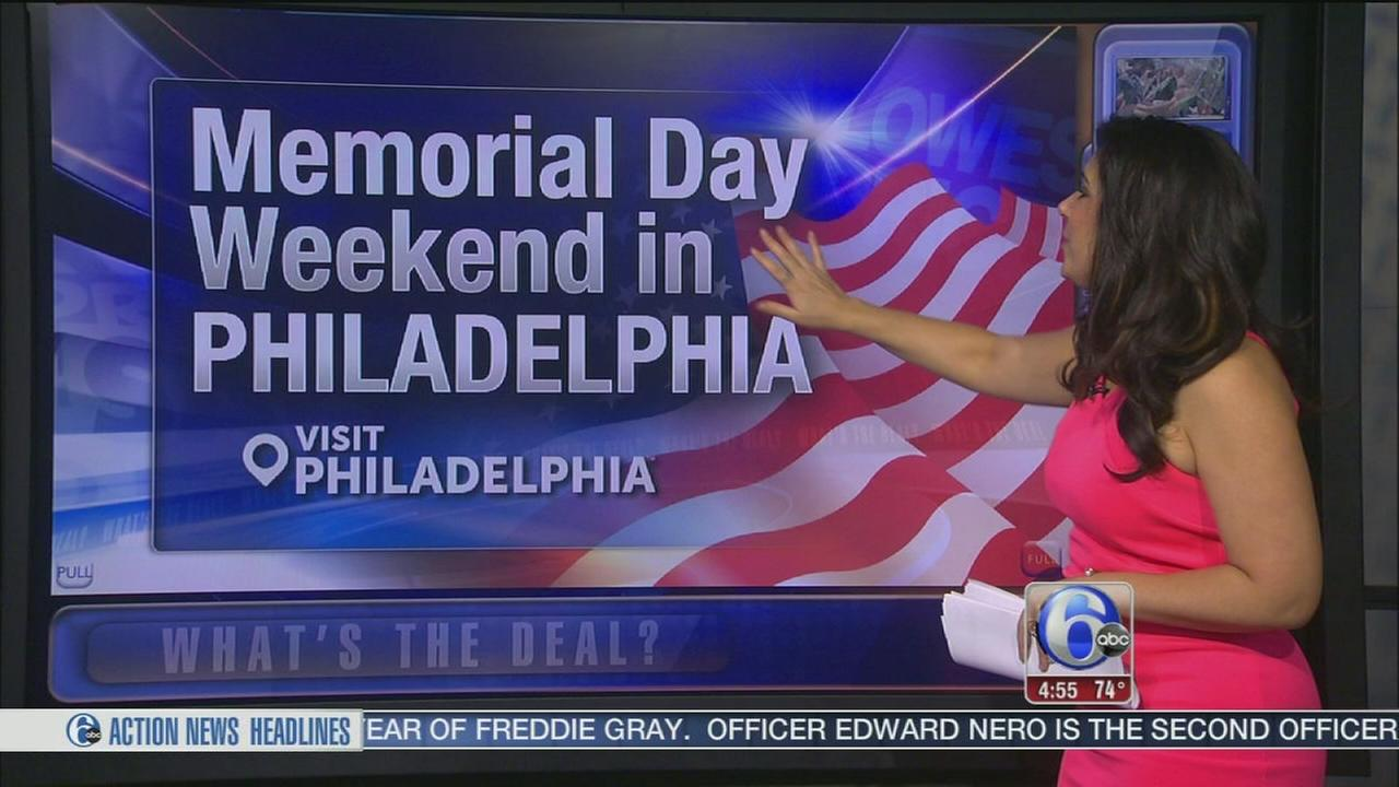 VIDEO: Memorial Day weekend in Philadelphia
