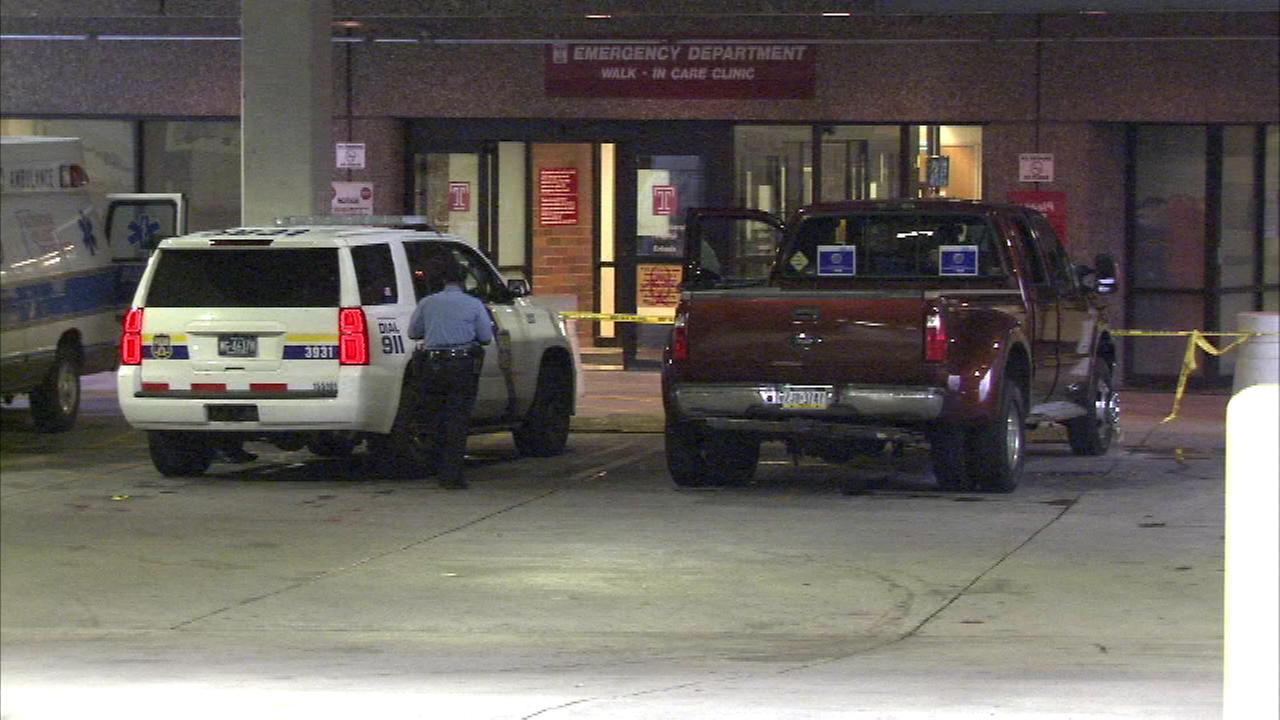 A Philadelphia tow truck driver was able to drive himself to the hospital after being shot in the chest.