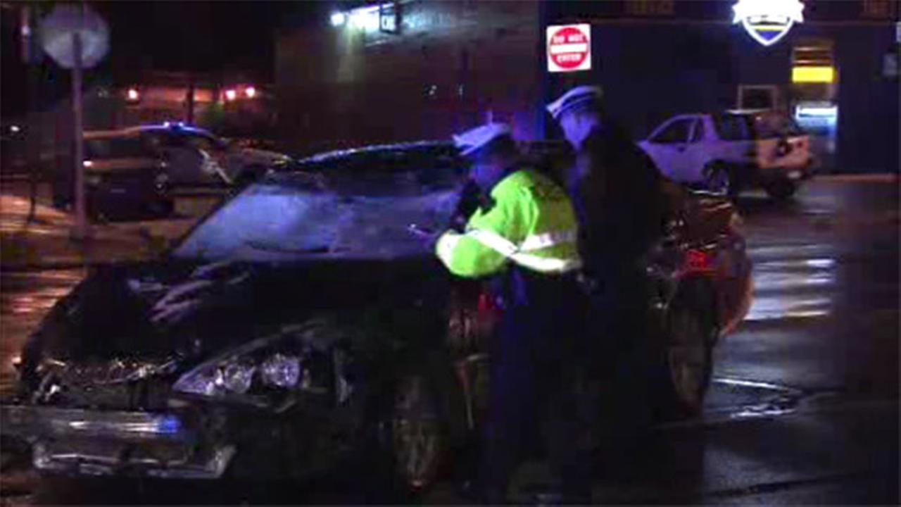 Man dies in hit-and-run crash in NE Philly; driver leaves car behind
