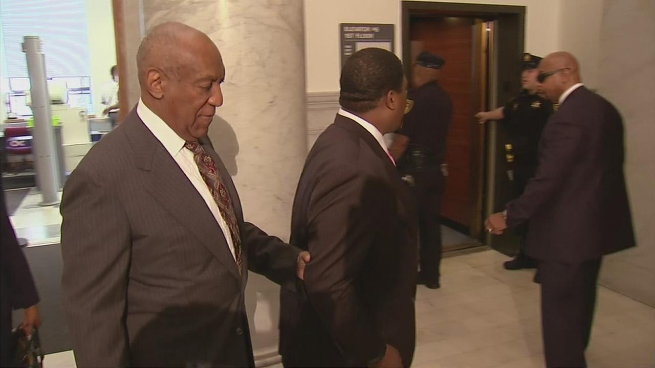 RAW VIDEO: Bill Cosby arrives at court