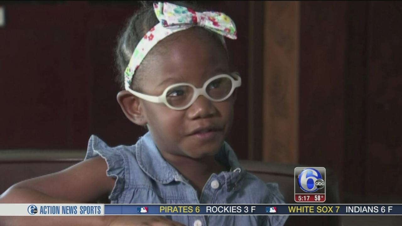 VIDEO: Girl, 4, aids firefighters in rescue
