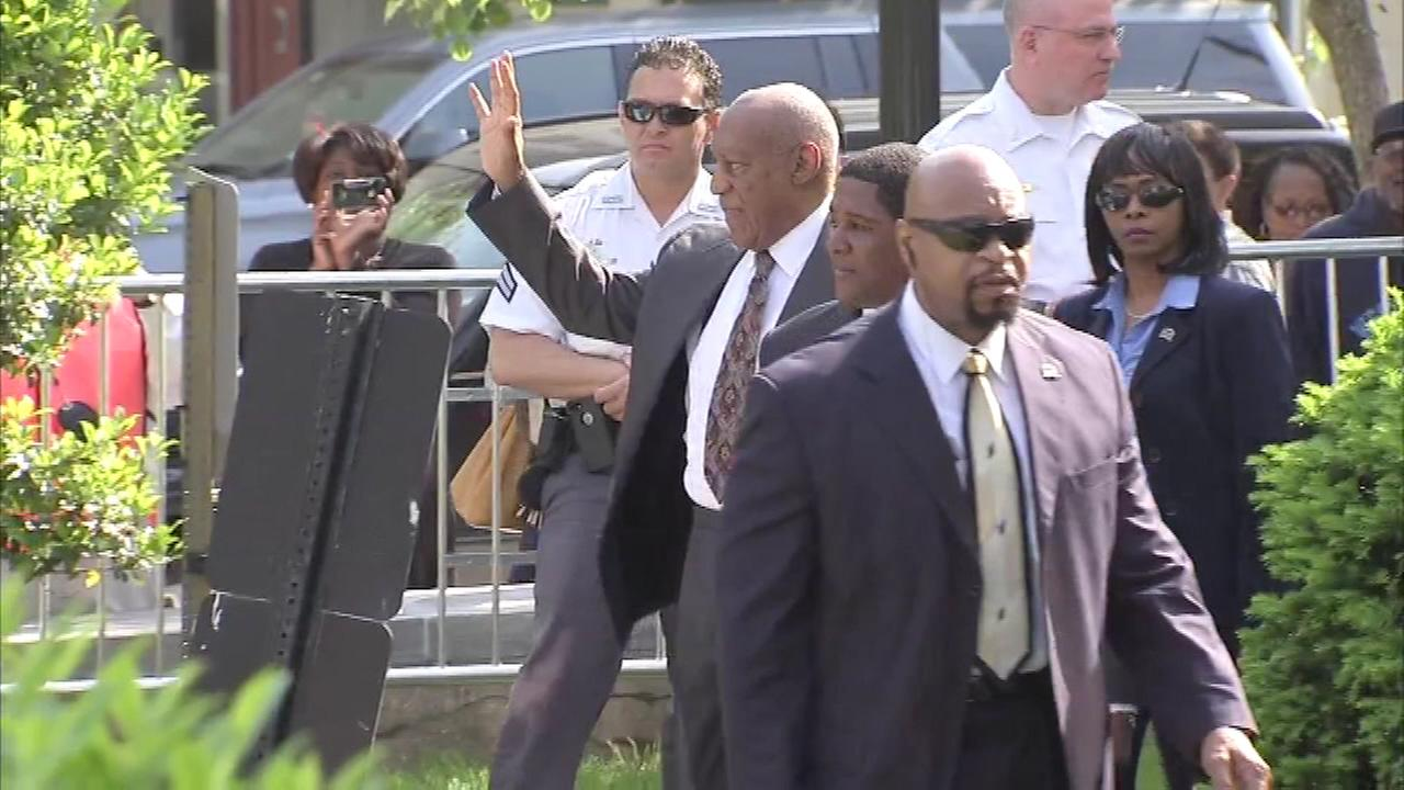 May 24, 2016: Bill Cosby arrived in court for a key hearing on whether prosecutors have enough evidence to put the 78-year-old comedian on trial.