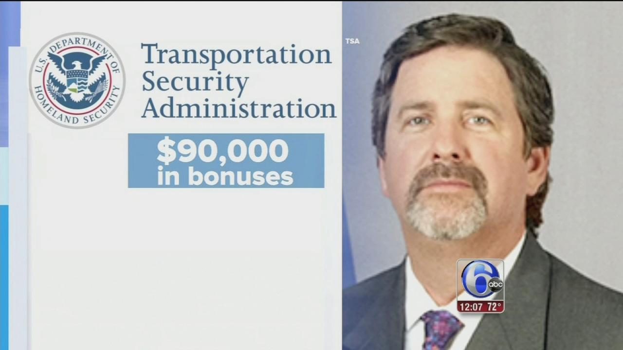 VIDEO: TSA security chief removed