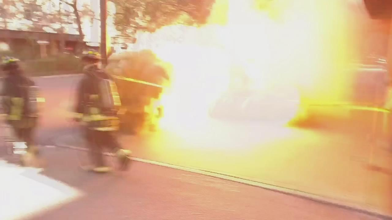 VIDEO: Transformer explosion in Florida