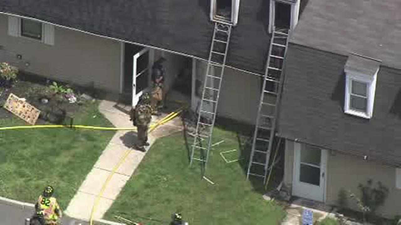 Firefighters battle 2 alarm fire in Clementon