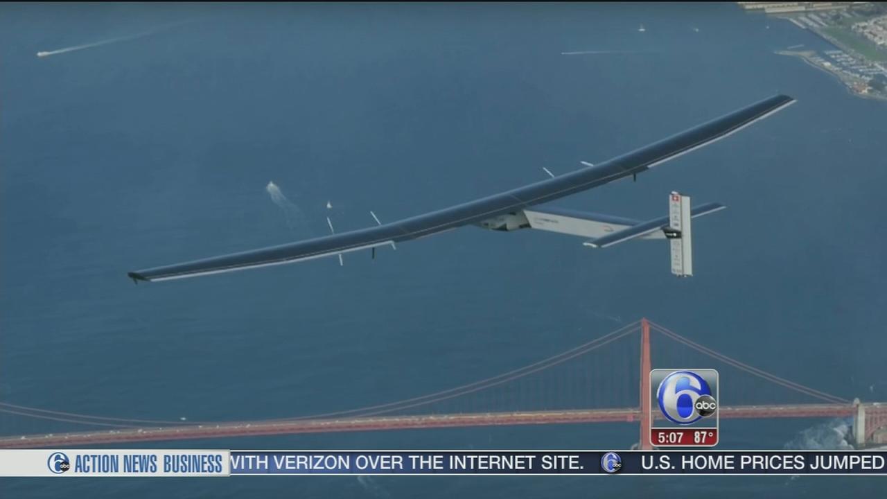 VIDEO: Solar plane