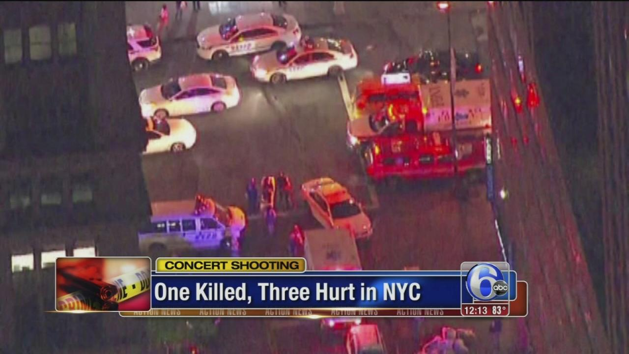 VIDEO: One killed in concert shooting in NYC