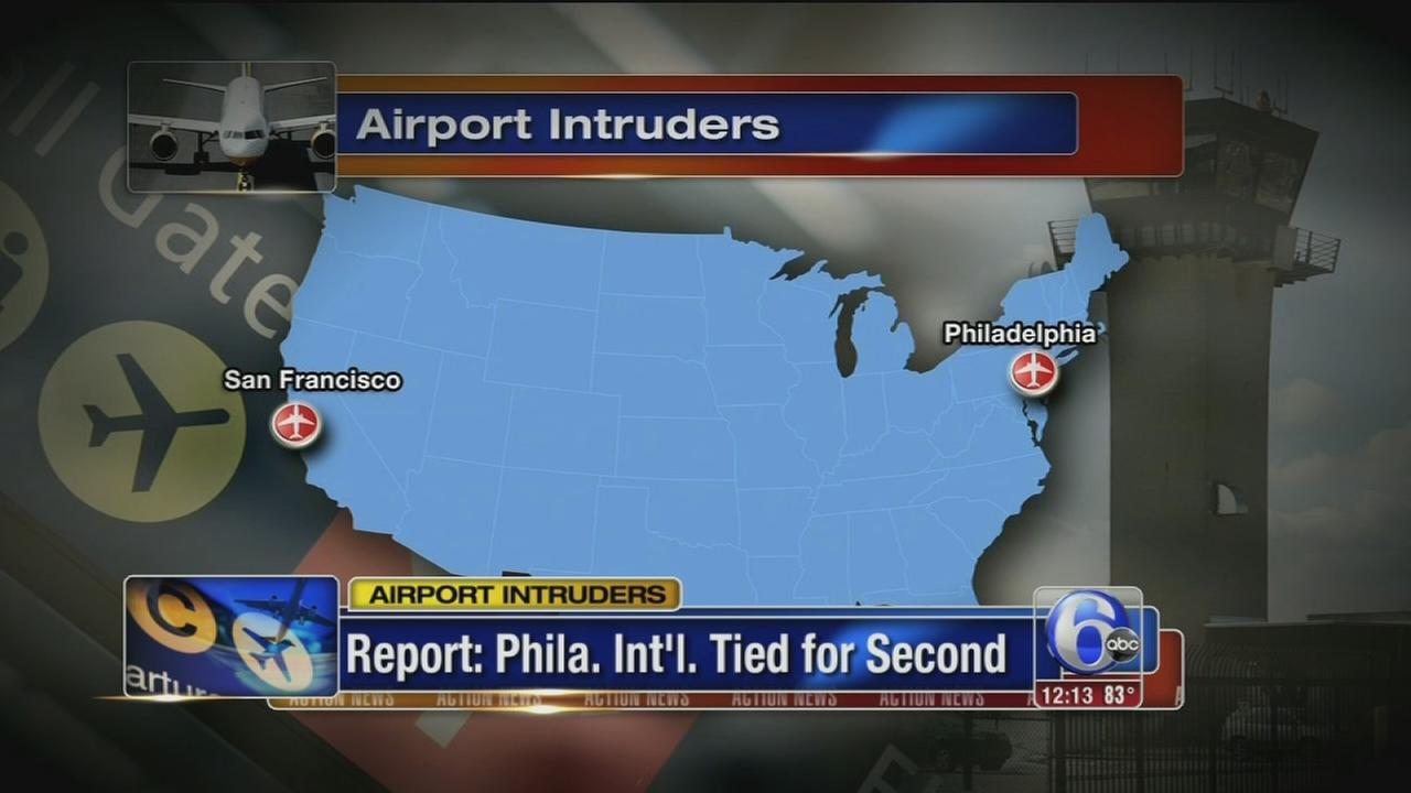 VIDEO: Philadelphia Intl Airport on AP list of most intrusions