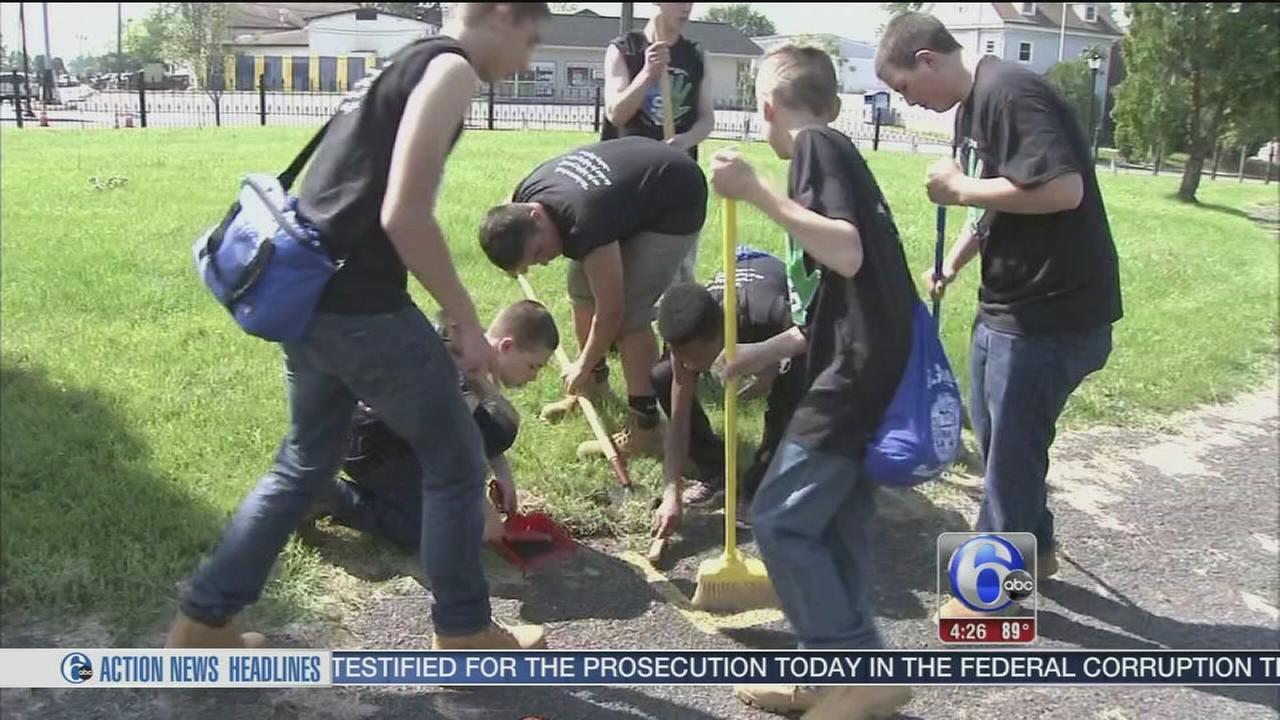 Freshman Community Service Day