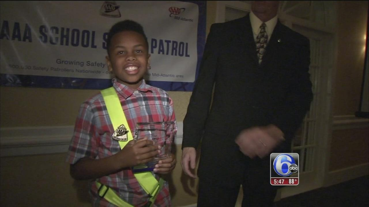 Outstanding AAA safety patrol awards