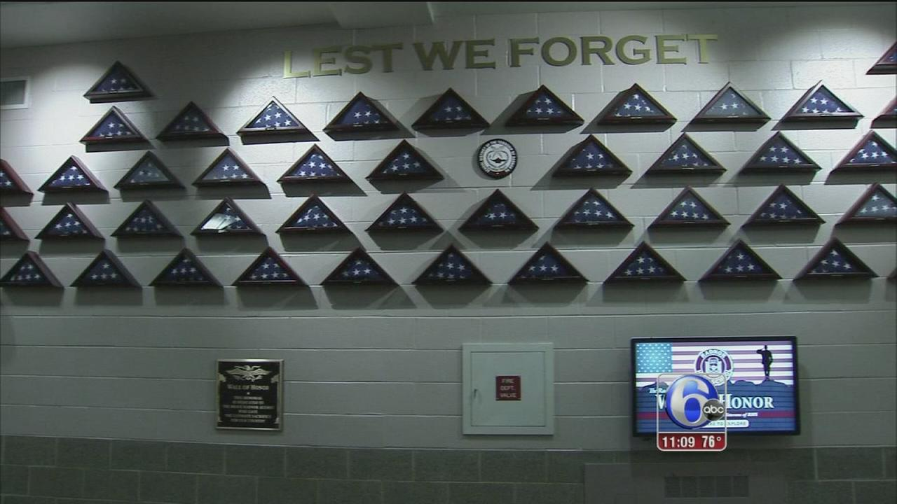 Radnor High School wall of honor