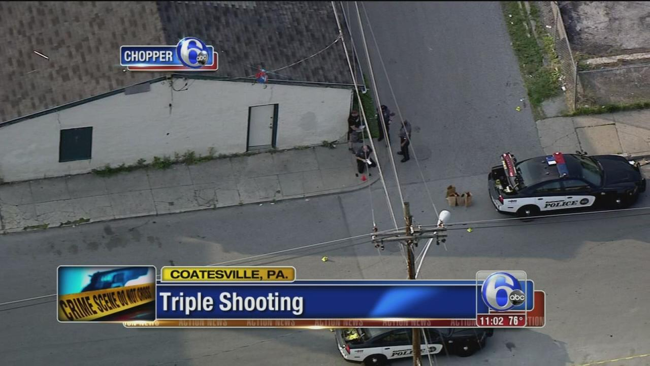 VIDEO: Triple shooting