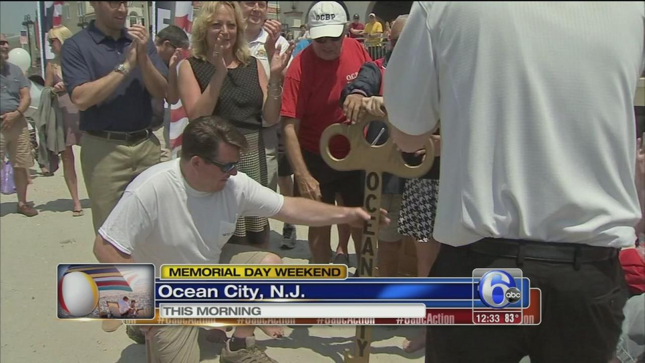 VIDEO: Ocean unlocked in Wildwood and Ocean City
