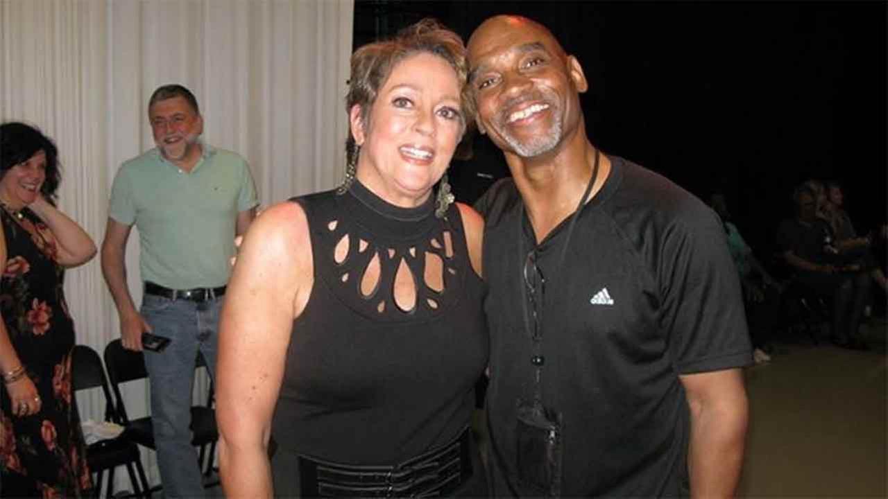 Lisa with 6abc photographer extraordinaire, Terry Gilmore.
