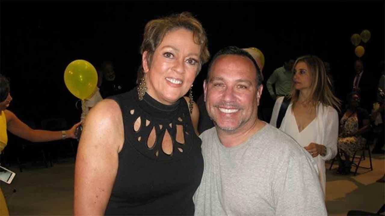 Lisa with Tom Cresta.