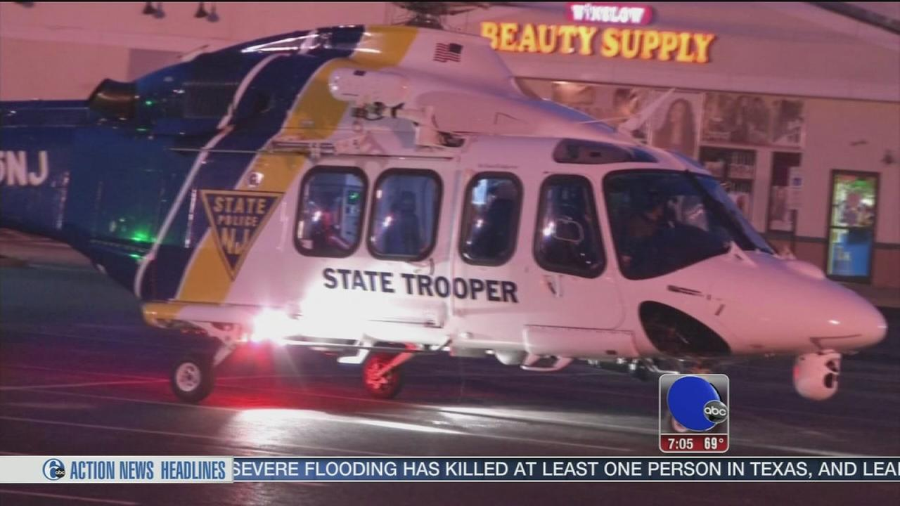 VIDEO: 2 men seriously injured in AC Expressway crash