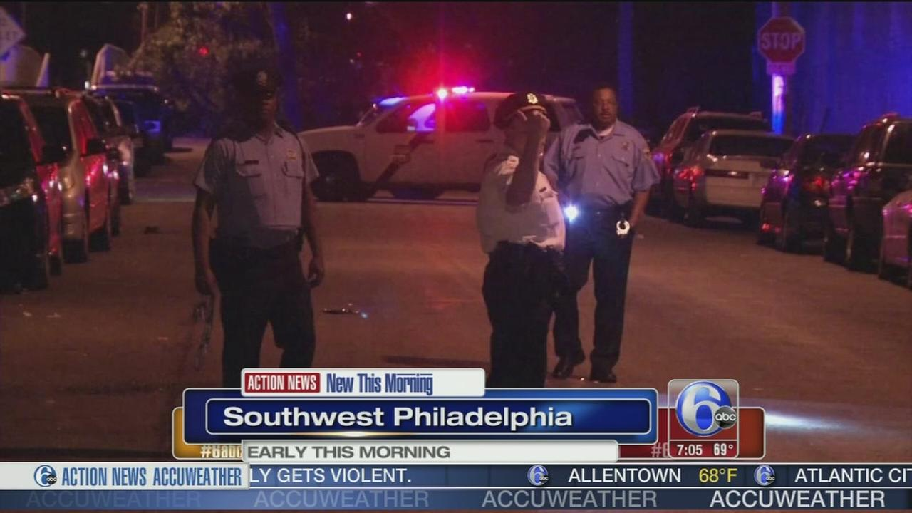 VIDEO: Man gunned down in Southwest Philadelphia