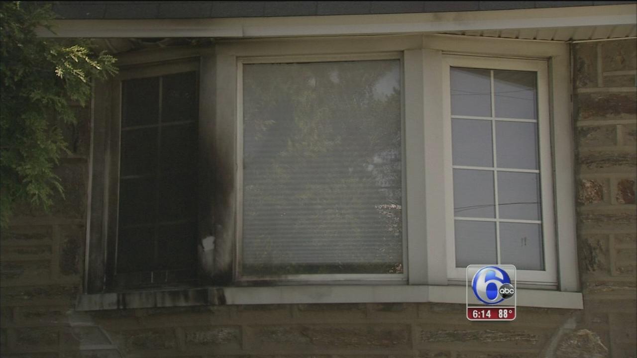 VIDEO: Germantown arson