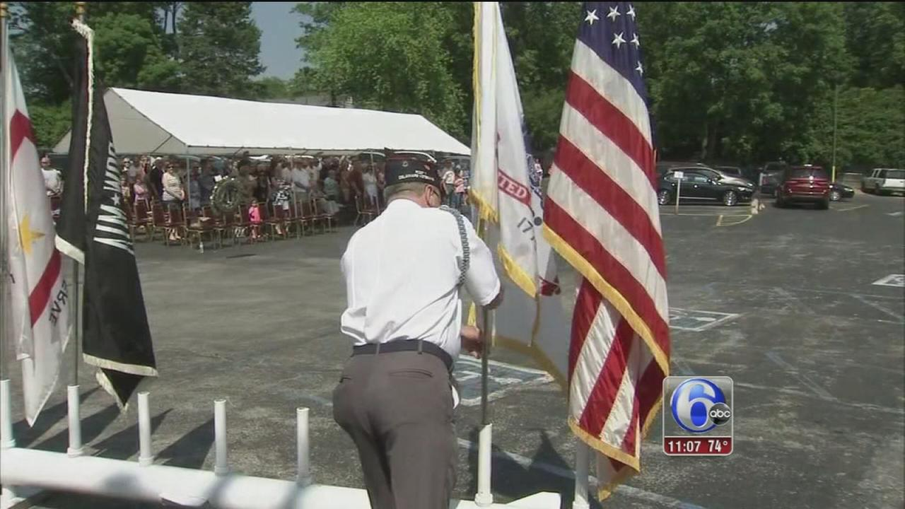 VIDEO: VFW ceremony