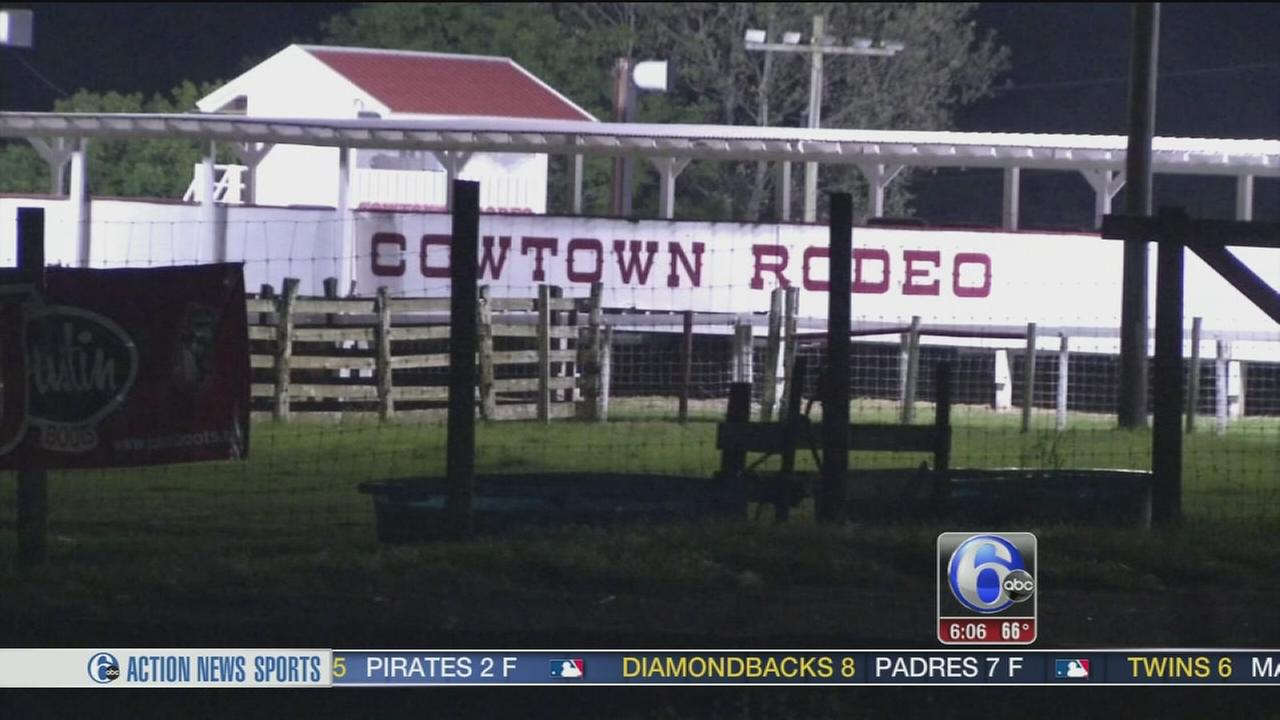 VIDEO: NJ rodeo rider killed in accident