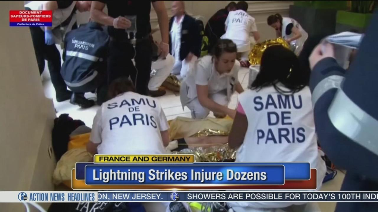 VIDEO: Child still critical after lightning hits 11 in Paris park