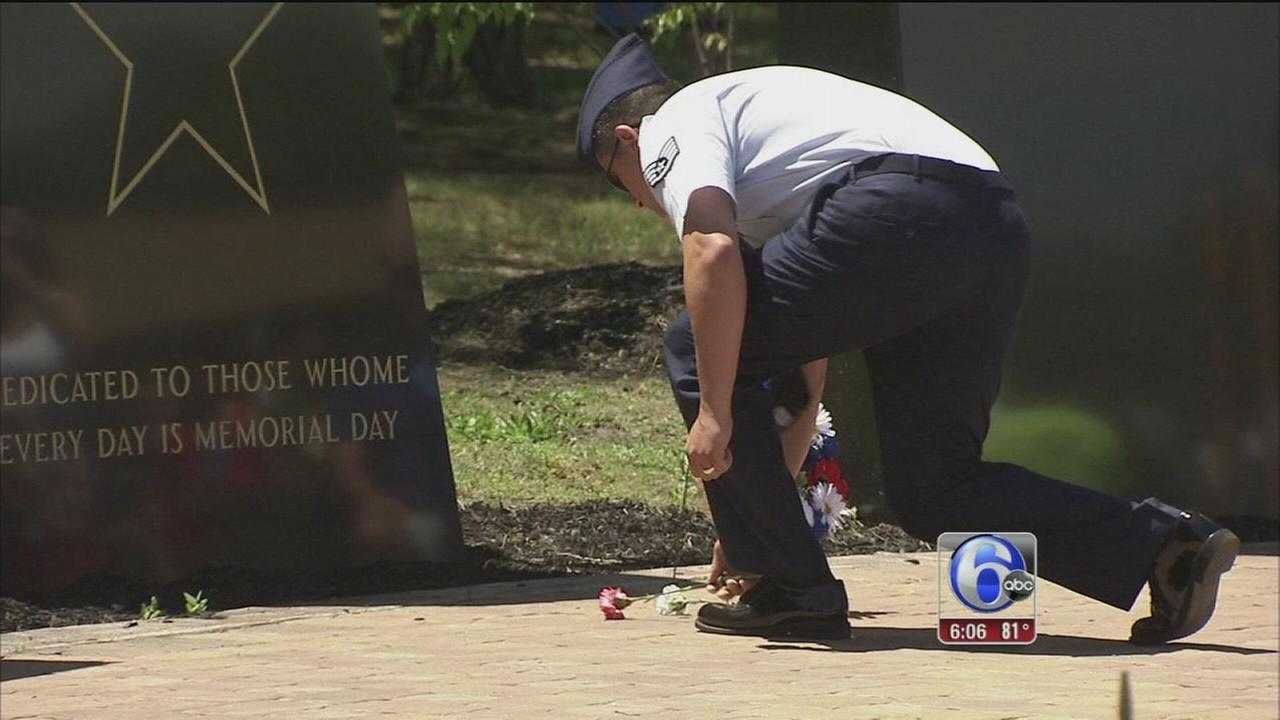 VIDEO: Memorial wrap
