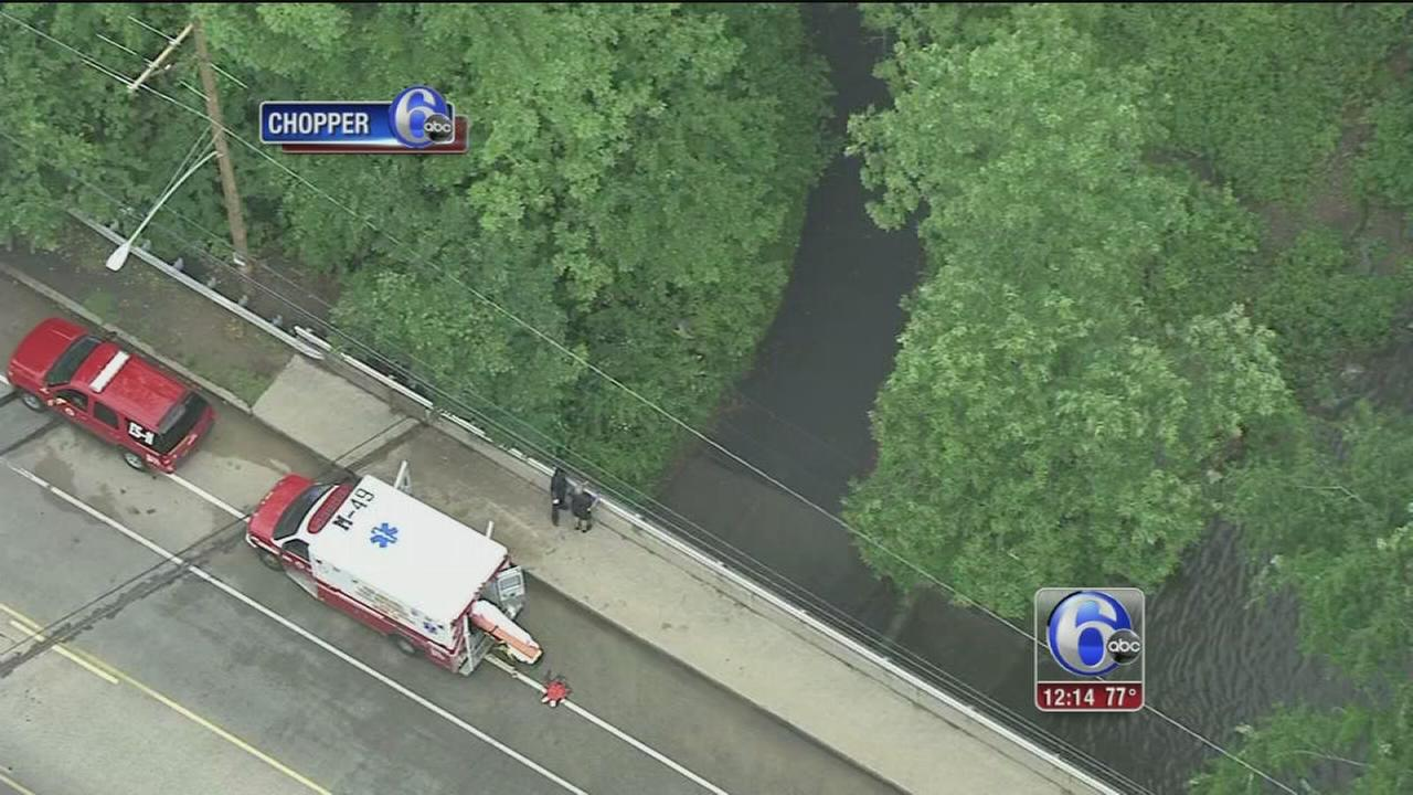VIDEO: Man dies trying to save dog in Pennypack Creek