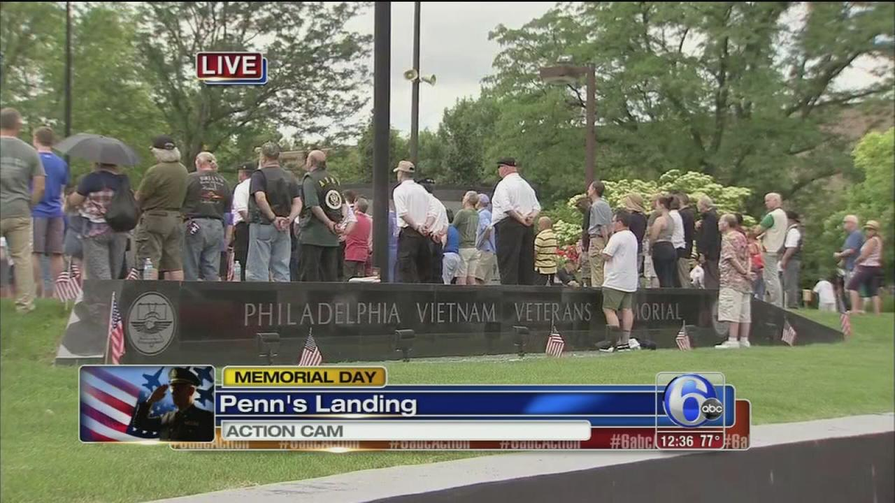 VIDEO: Names to be added to Vietnam Memorial in Penns Landing