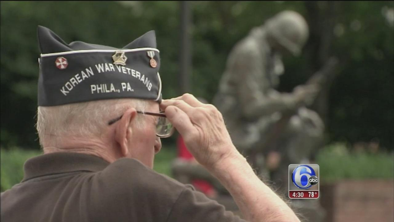 VIDEO: Korean, Vietnam veterans honored at Penn?s Landing