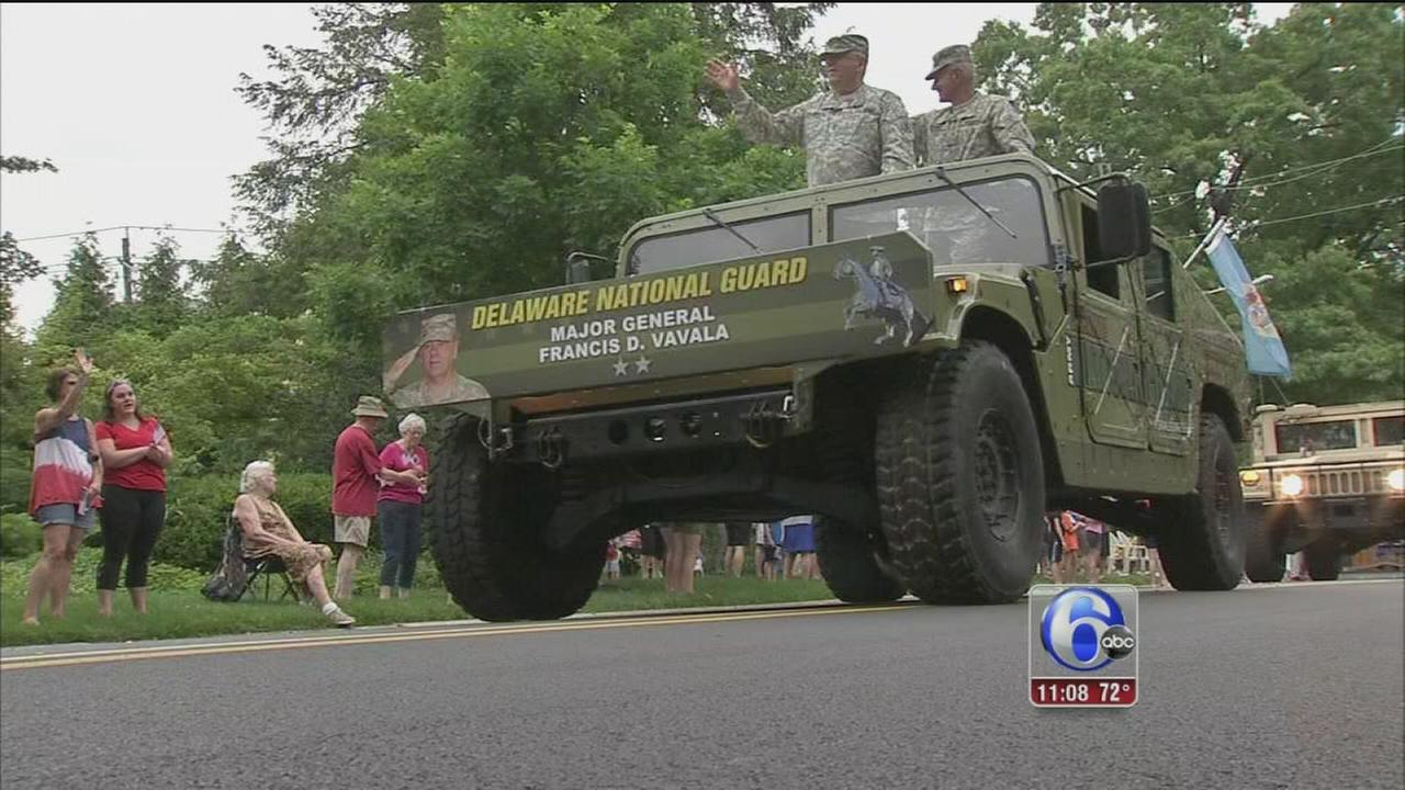 VIDEO: Wilmington remembers our veterans with annual parade