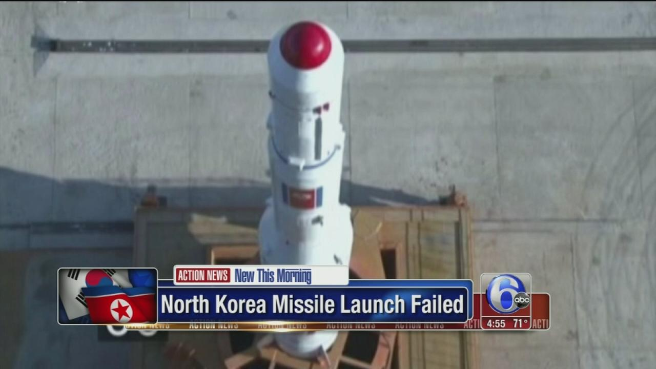 VIDEO: South Korea says North Korea missile launch likely failed