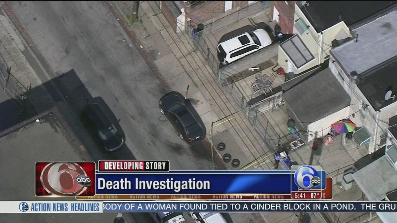 VIDEO: Police investigate Southwest Philadelphia death