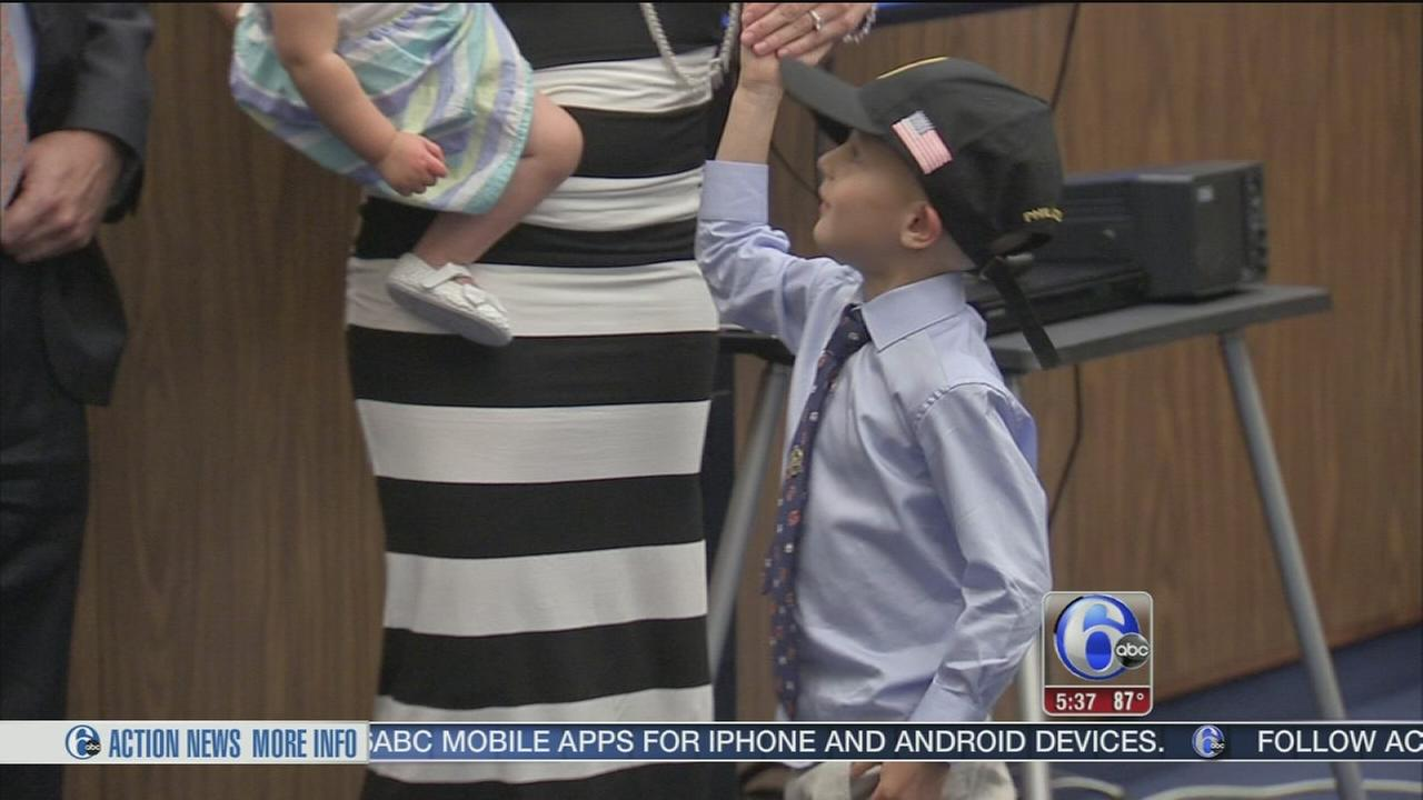 Local boy appointed Special Deputy US Marshal