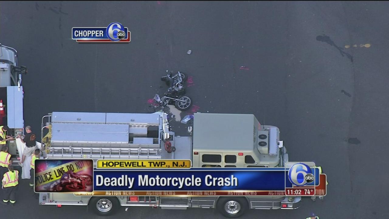 VIDEO: Motorcyclist killed in crash