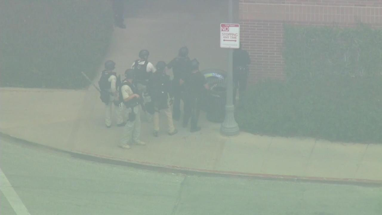 June 1, 2016: UCLA was placed on lockdown amid reports of a shooting at an engineering building Wednesday morning.