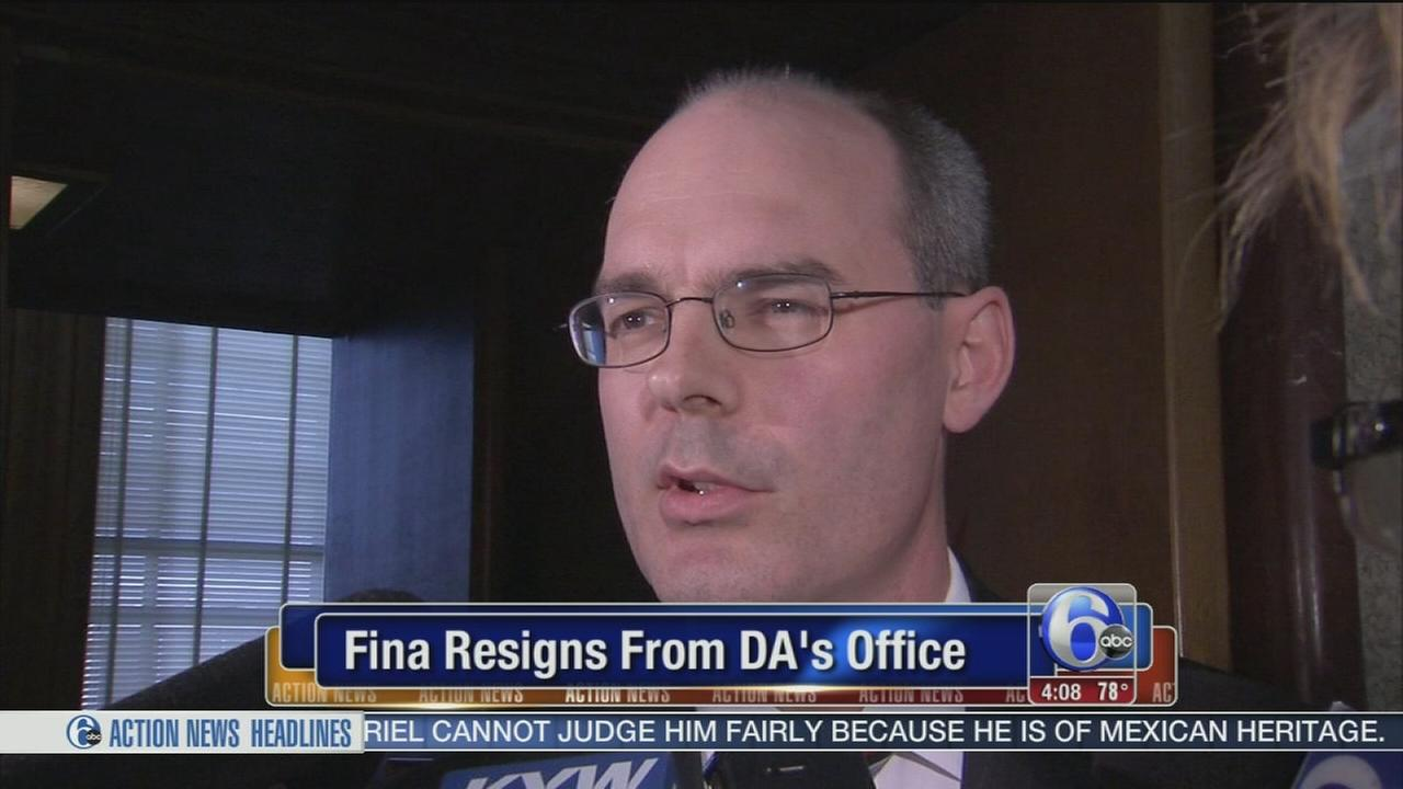 VIDEO: Fina resigns from DAs office