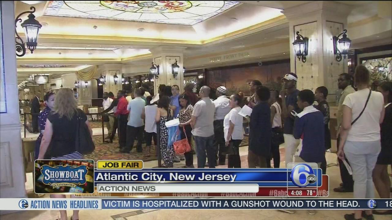 VIDEO: Job fair at Showboat