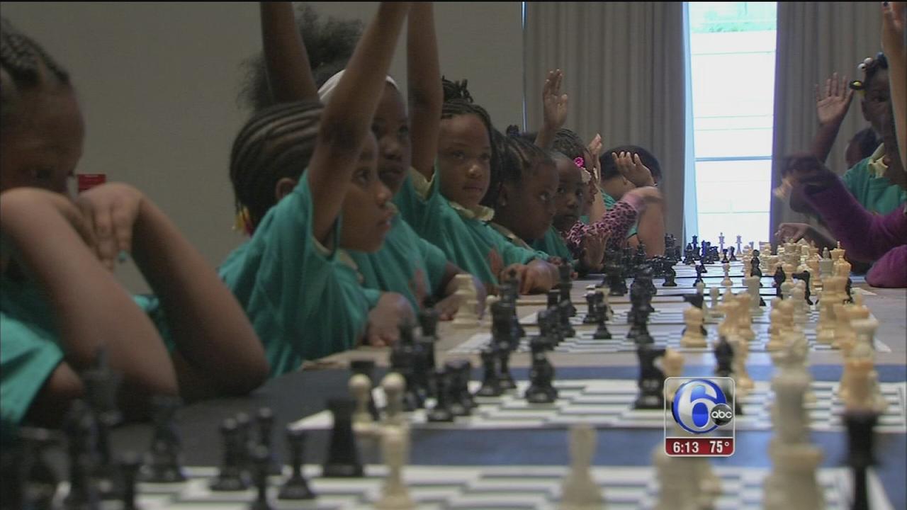 VIDEO: Philly Girls Play Chess All-Girls Tourament