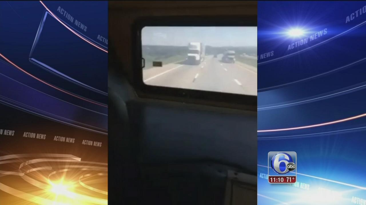 VIDEO: Footage shows crash from inside bus
