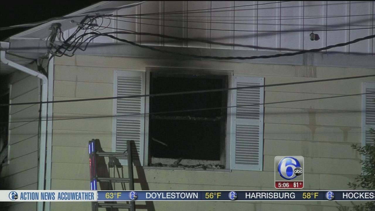 VIDEO: Doctors office damaged by fire in South Jersey