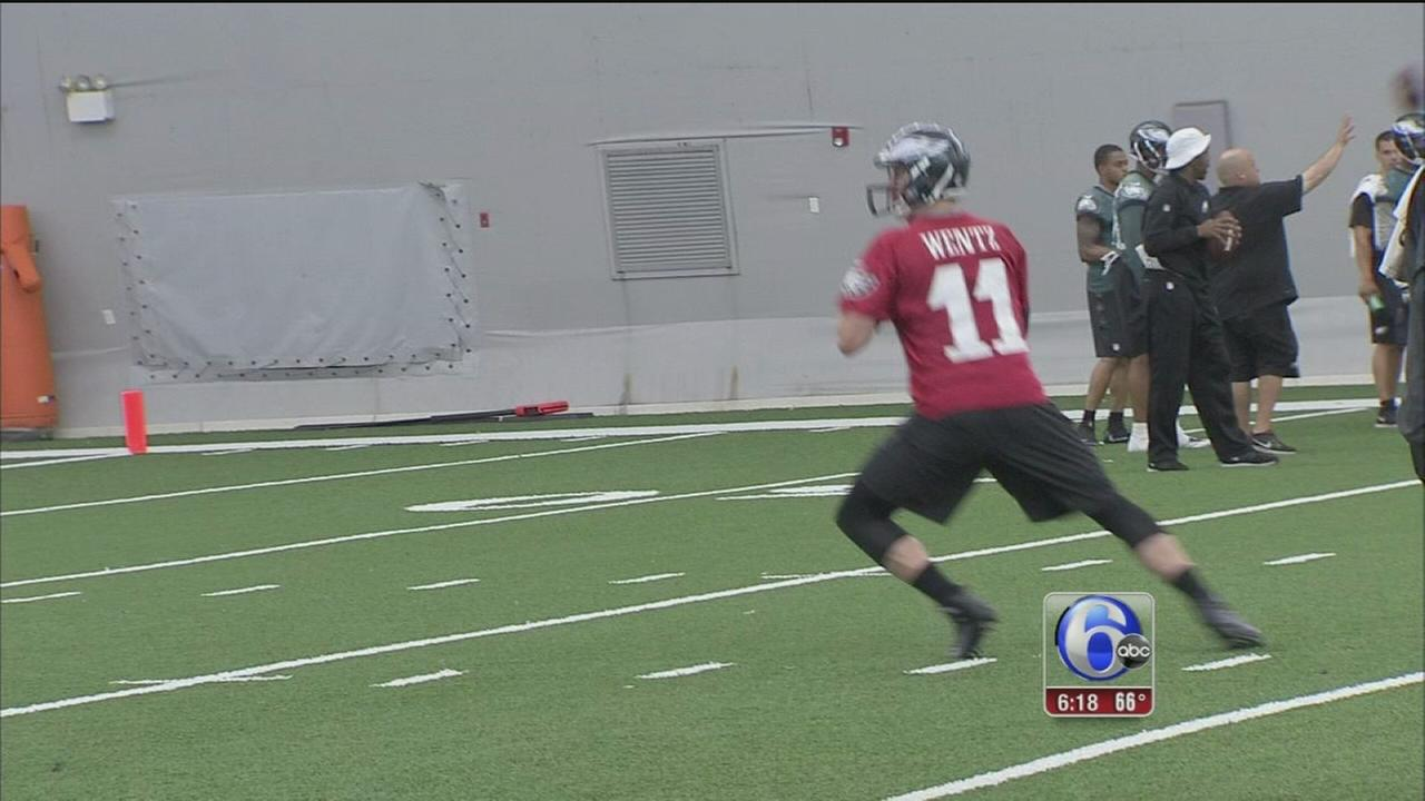 VIDEO: Minicamp continues for Eagles
