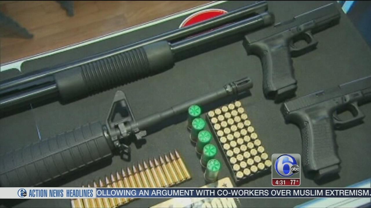 VIDEO: Gun control debate in spotlight