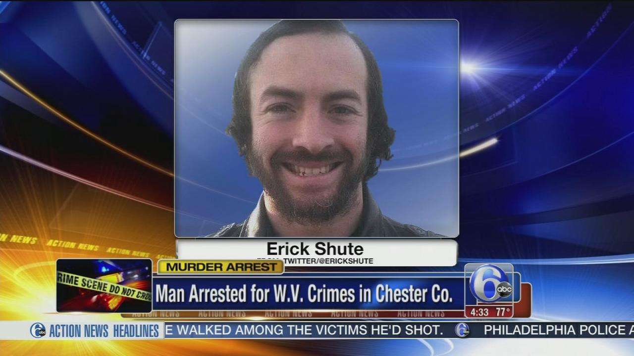 Police: Man wanted for killing 3 captured in Chester Co.