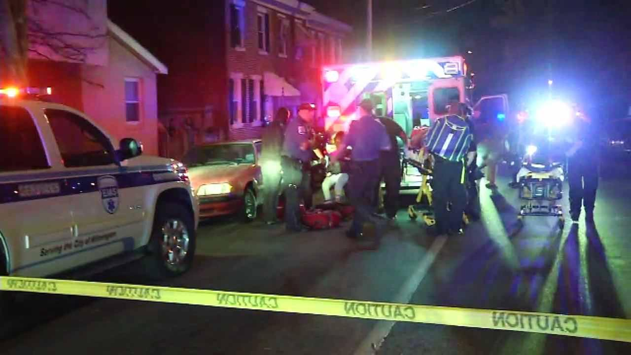 Multiple people were injured in a shooting in Wilmington, Delaware.
