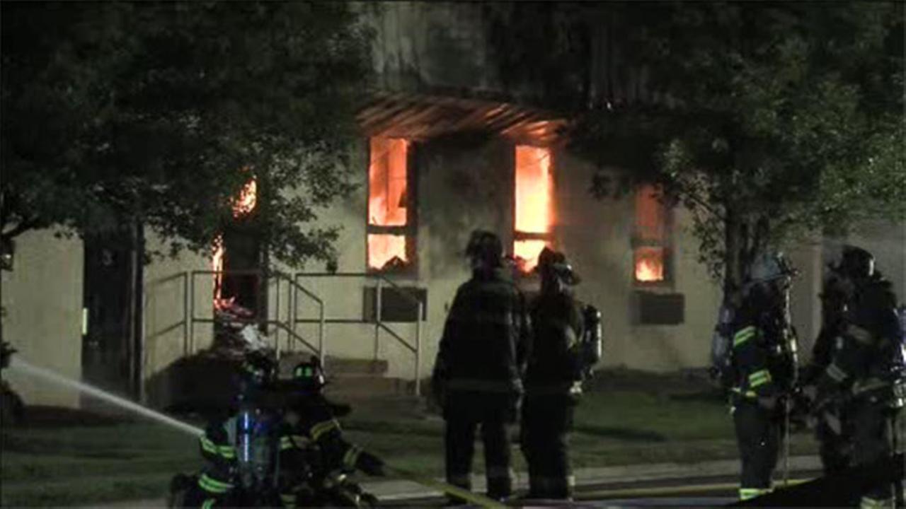 Fire crews battle 2-alarm blaze inside Montco business