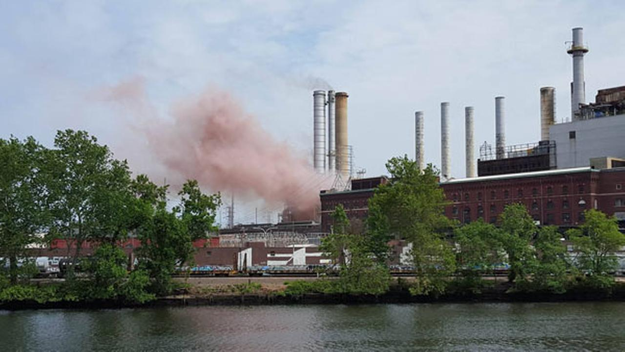 An explosion occurred at the Veolia Schuylkill Plant in South Philadelphia.Jennifer Romano