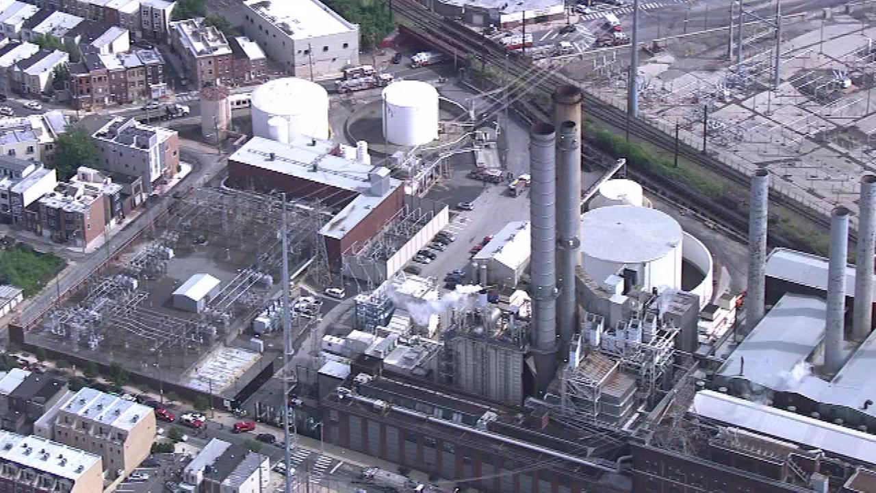 An explosion occurred at the Veolia Schuylkill Plant in South Philadelphia.